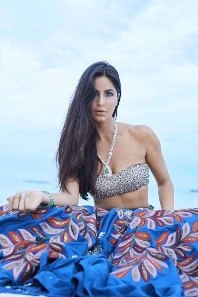 Indian Model Katrina Kaif Sizzles Maldives Photo Shoot