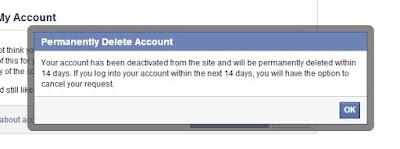 Cara Menghapus Akun Facebook Secara Permanen - 2017
