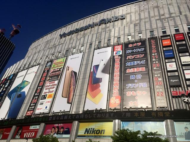 Tiendas de electrónica en Akiba (Tokio)