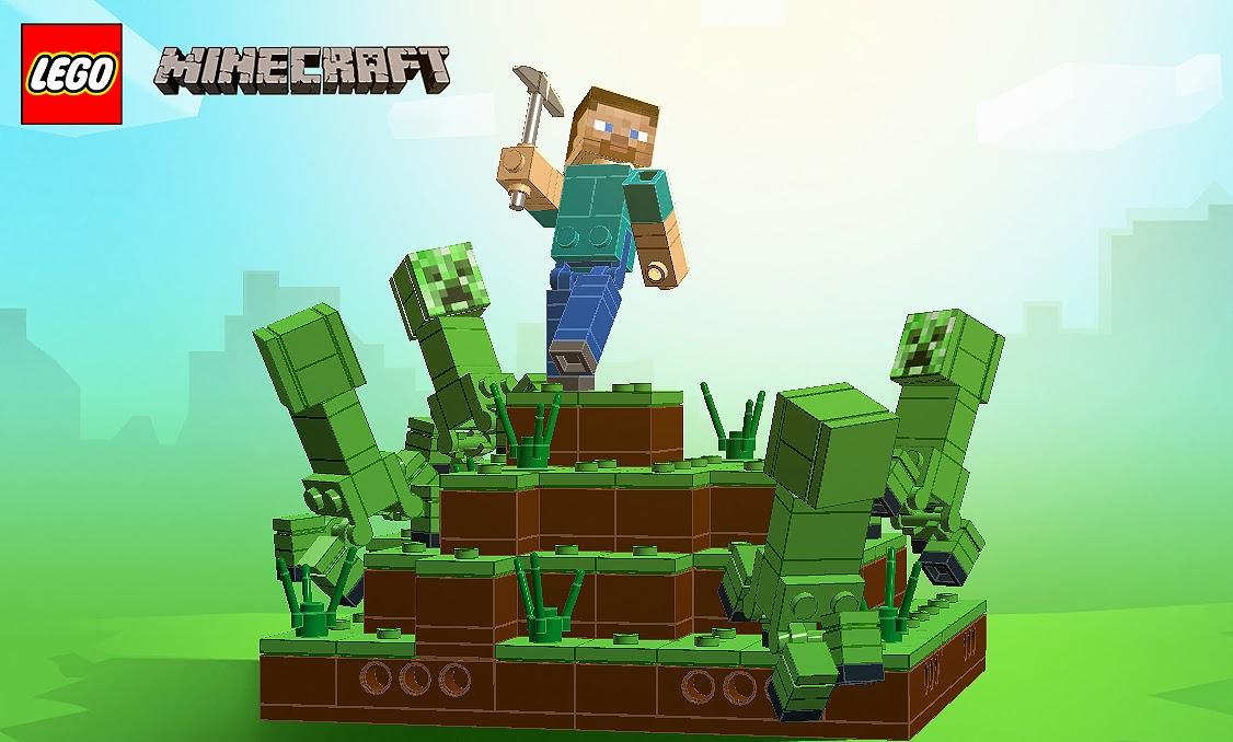 Continuum Giving Lego Minecraft A Shot