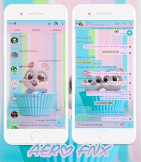 Cute Animal Theme For YOWhatsApp & Aero WhatsApp By Ave fénix