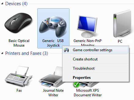 Configure Any Game Controller / Gamepad settings Using