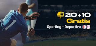 bwin promocion Sporting vs Deportivo 15 septiembre 2019