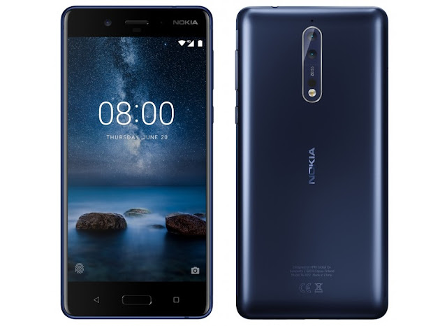 Nokia 8 With 5.3-inch Quad HD AMOLED Display | Dual Cameras
