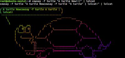 Cara Menggunakan Perintah Lolcat di Ubuntu 16.04