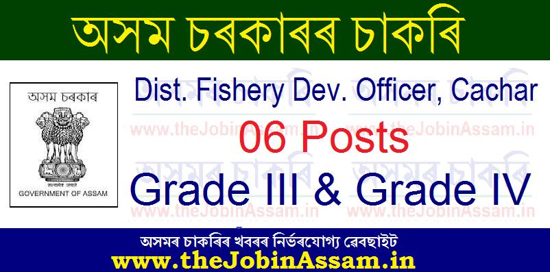 Dist. Fishery Dev. Officer, Cachar Recruitment 2021