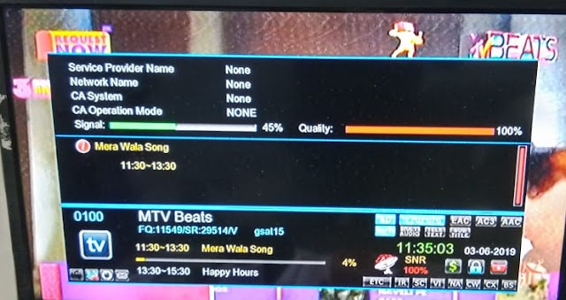 MTV Beats Channel free to air.