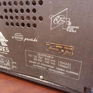 radio Erres RA615 năm 1961