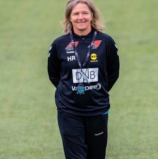 WOMEN'S- FOOTBALL- Hege- Riise, Rhian -Wilkinson- england- look-closer- two- women