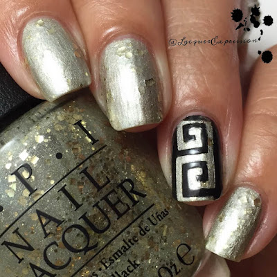 swatch and review of Baroque...but Still Shopping from OPI Fall 2015 Venice collection