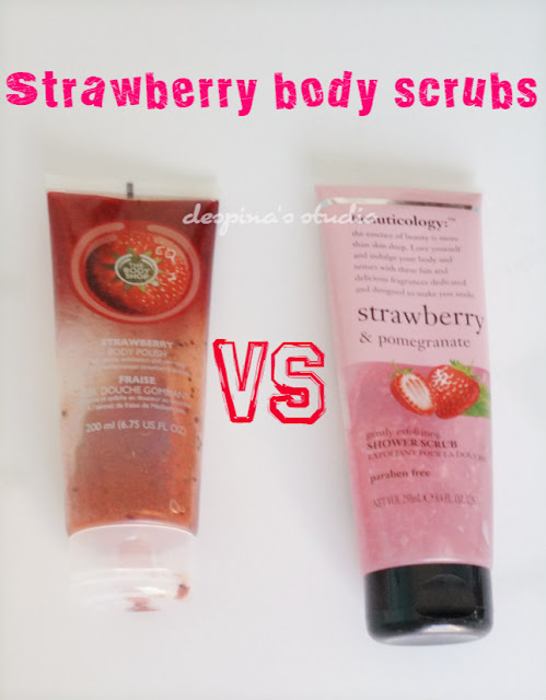 review Strawberry body scrubs