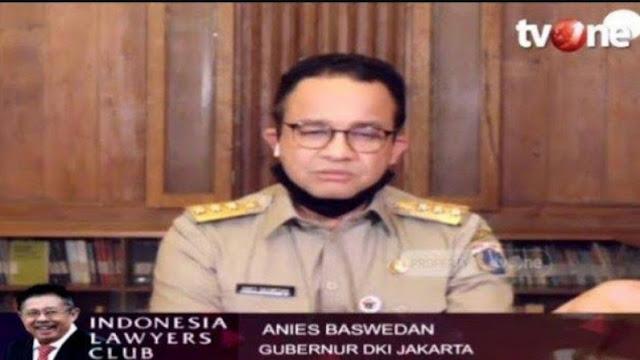 Anies Mengeluh ke Media Asing, Sebut Pemerintah Pusat Tak Konsisten