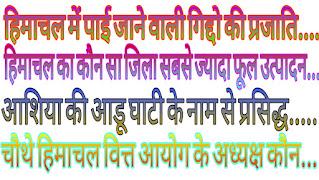 Quiz, himachal pradesh daily current affairs, gk quiz 2020.