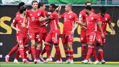 """Video Wolfsburg 0-4 Bayern Munich: Đại tiệc bàn thắng mừng """"nhà vua"""""""