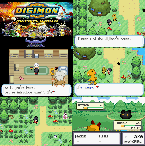 Pokemon Digimon New World GBA ROM Download