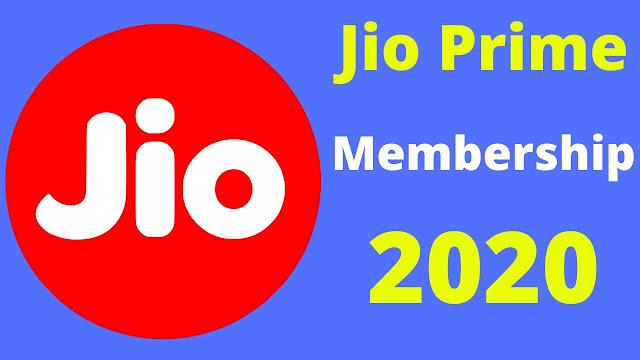 Jio Prime Membership 2020