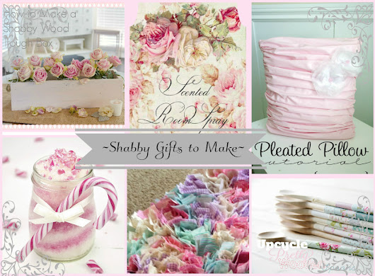 ~Shabby Sweet Christmas Crafts~
