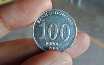 coin a hundred IDR