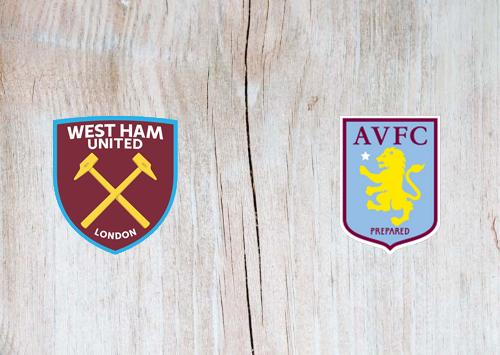 West Ham United vs Aston Villa -Highlights 26 July 2020