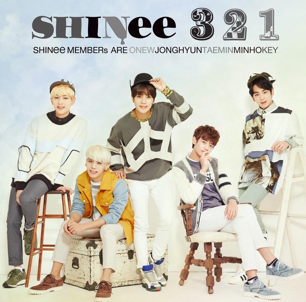 [EP] SHINee – 3 2 1 [FLAC + DVD]