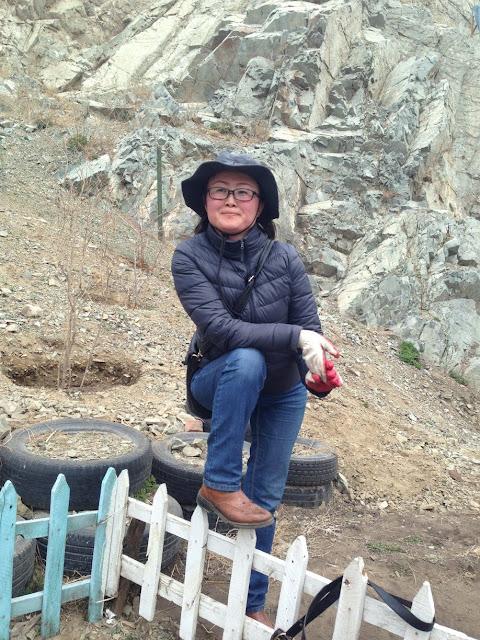 Selenge - one of my brilliant Mongolian trip assistants