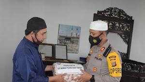 """""""Jum'at Barokah"""" Kapolres Aceh Tengah Serta PJU Lakukan Silahturrahmi Dan Salurkan Zakat Personel Kekampung Nosar"""