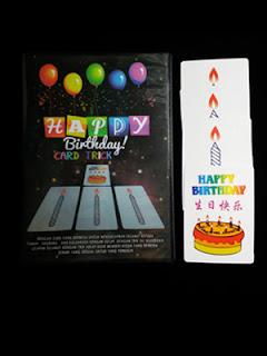 toko sulap jogja Birthday Card Trick