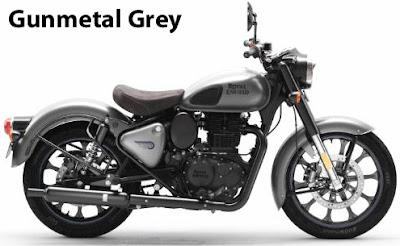 Royal Enfield Classic 350 Gunmetal Grey.