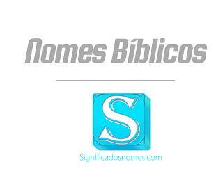 nomes bíblicos
