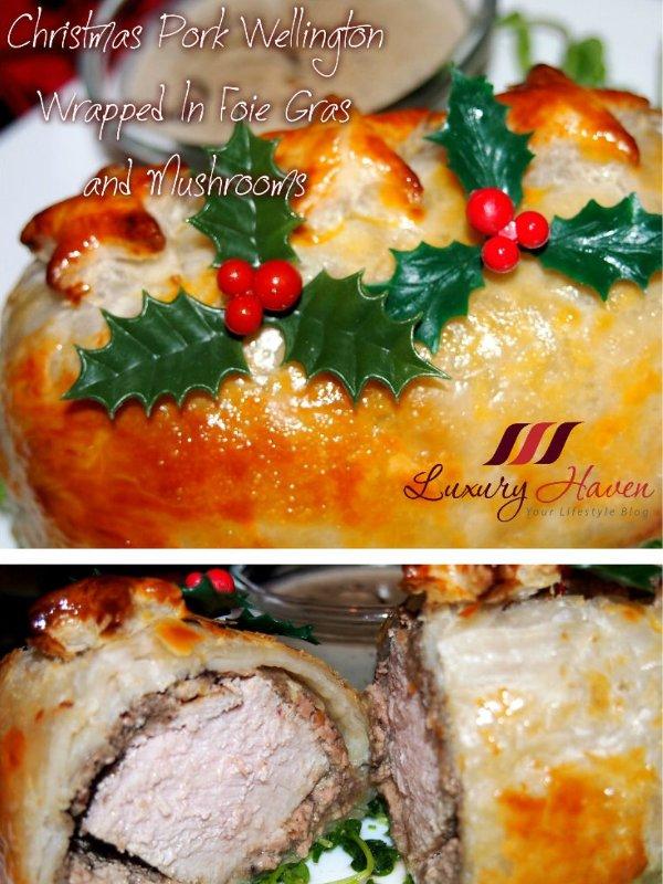 christmas foie gras pork wellington recipes
