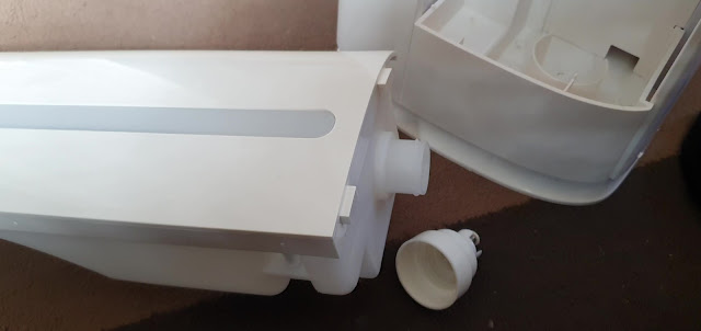 Water filter in the PerfectAir Sense air purifier