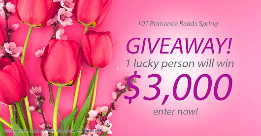 $3,000 Big Romance Author Spring Giveaway!