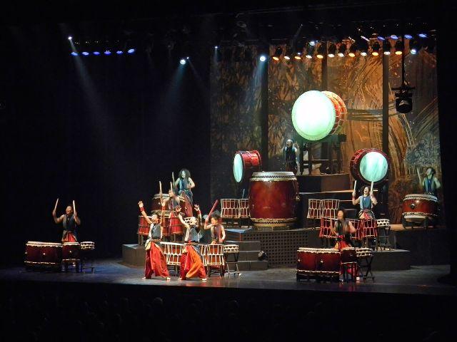 występ, Japonia, Yamato, bębniarze
