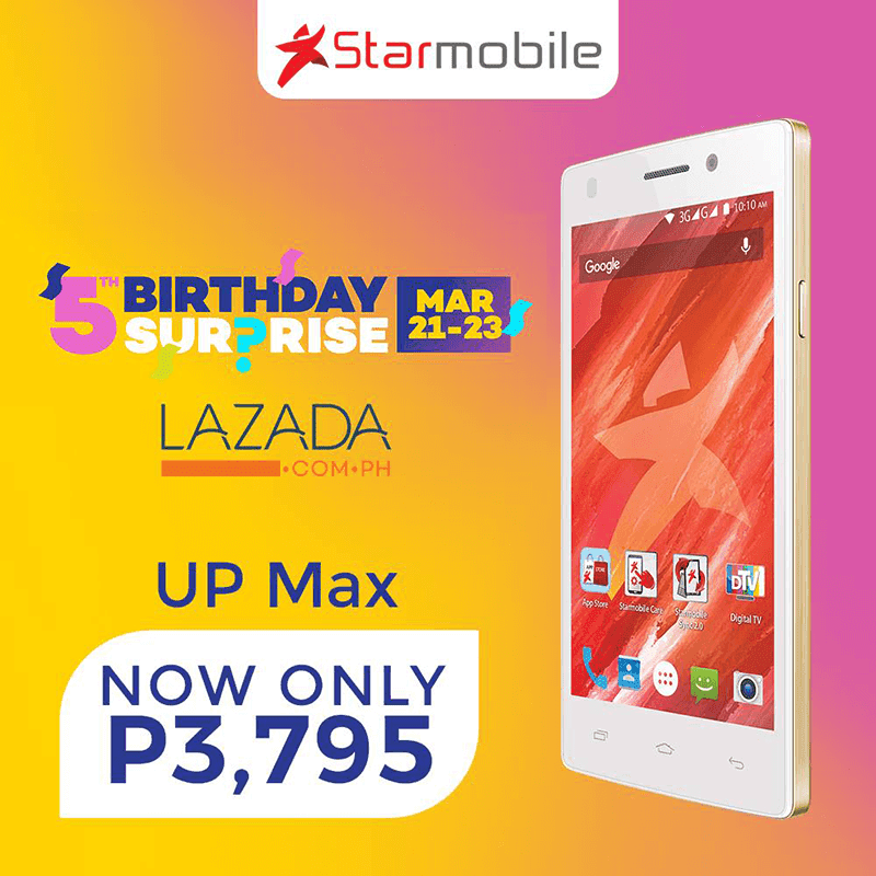 Starmobile Up Max And Knight Spectra Price Cut!