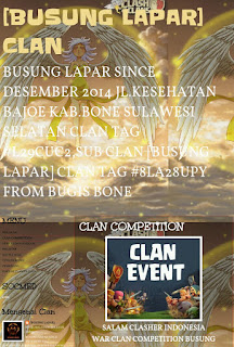 Clan TARAKAN Ikut War Competition [BUSUNG LAPAR] Clan