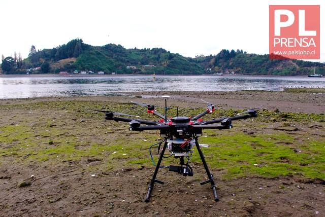 """Con dron buscarán detectar """"Mareas Rojas"""""""