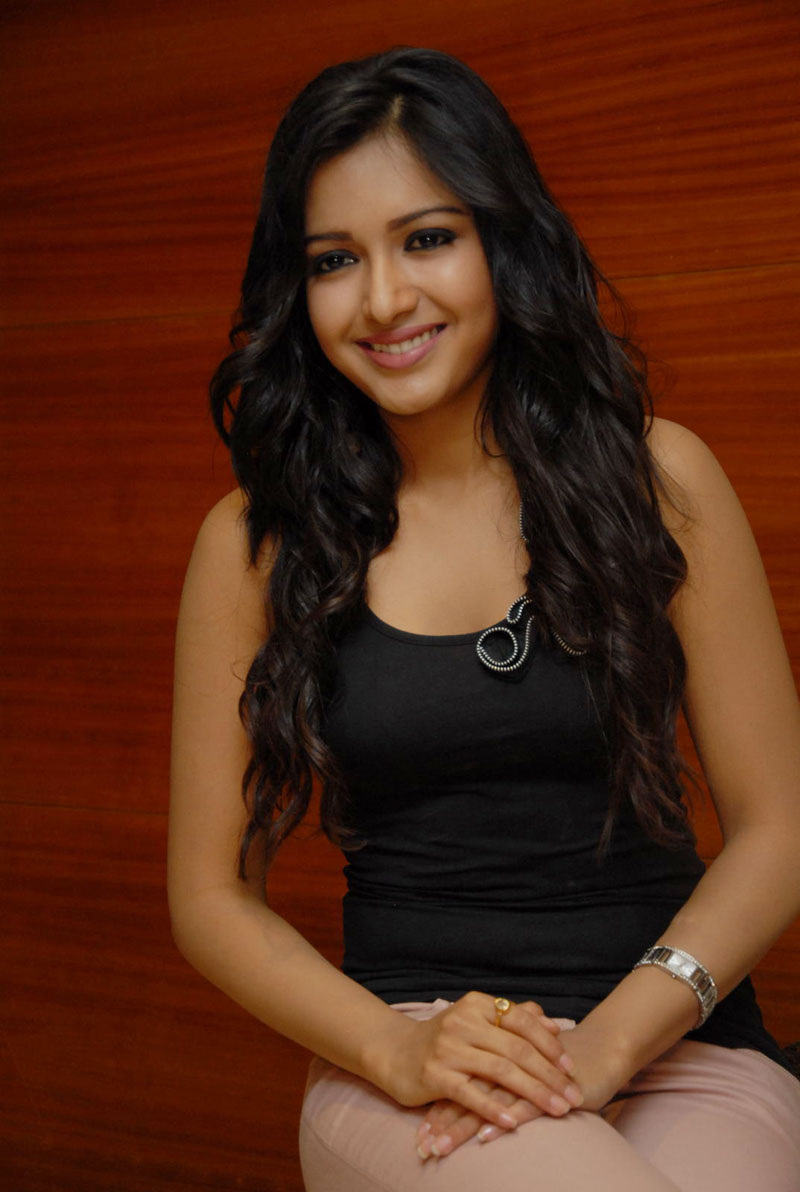 Catherine Tresa Latest Stills In Black Dress