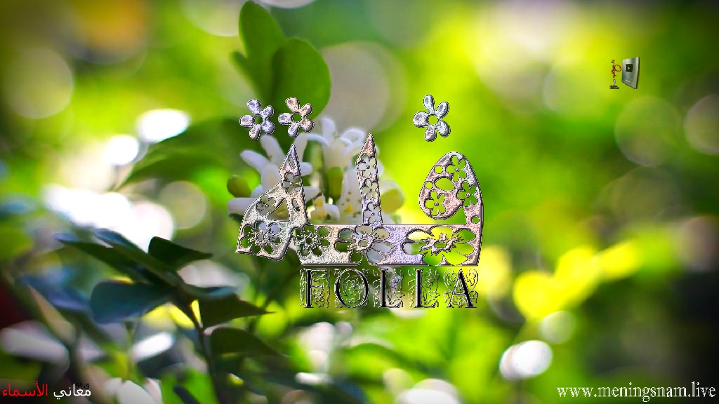 معنى اسم فلة وصفات حاملة هذا الاسم Folla