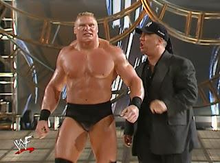 WWE / WWF Backlash 2002 - Paul Heyman leads Brock Lesnar into battle