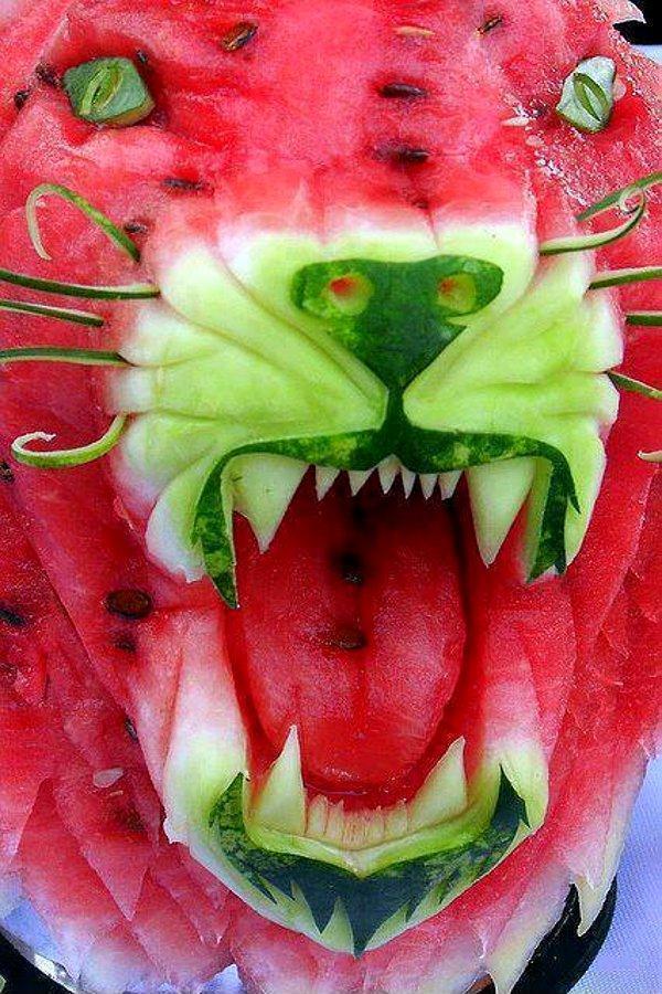 wieviel kalorien haben wassermelonen
