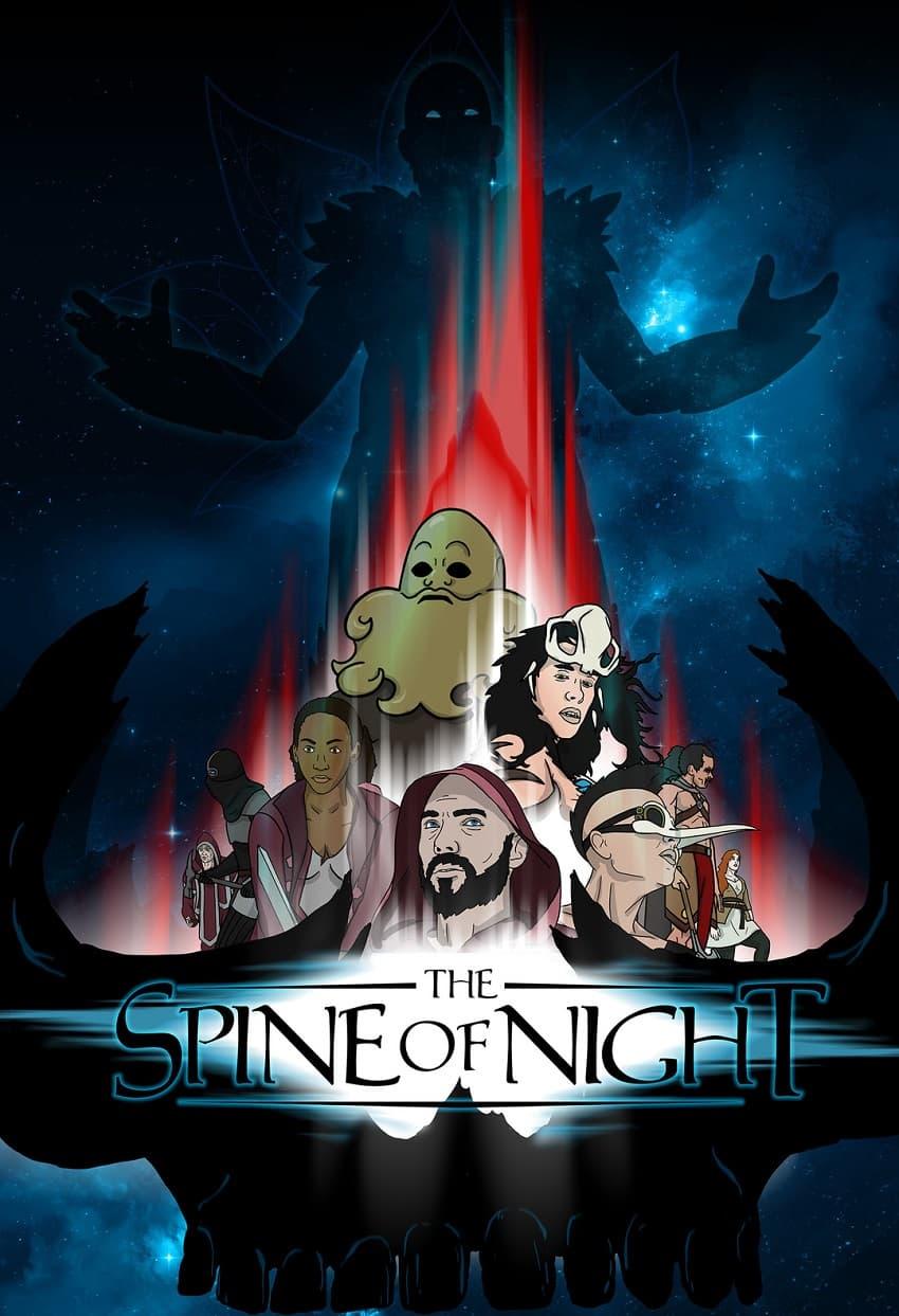 Shudder купил права на анимационный фэнтези-хоррор The Spine of Night - Постер