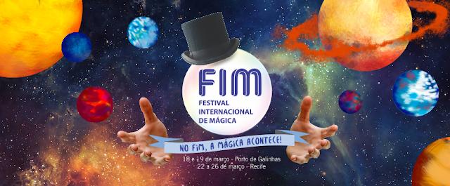 FIM Festival Internacional de Mágica em Recife
