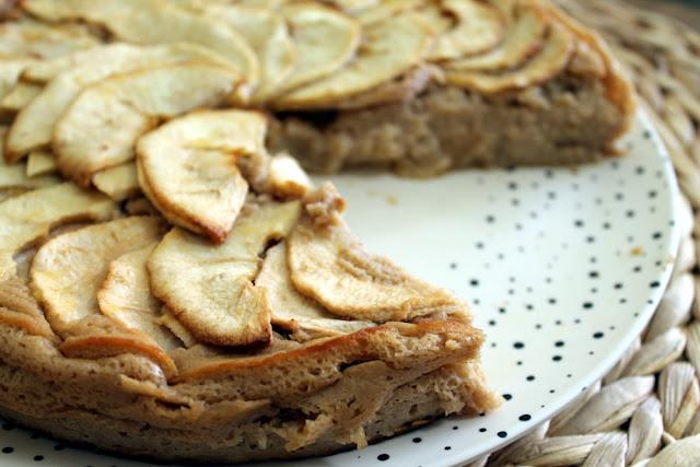 Tarta de manzana y miel