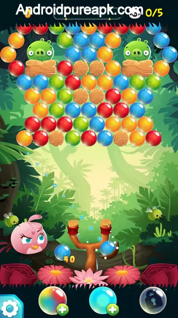 Angry Birds POP Bubble Shooter Mod Apk