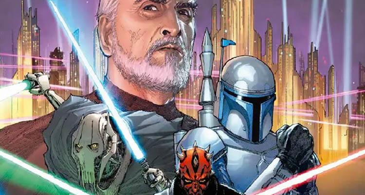 Portada Villanos Star Wars entre las novedades Marzo 2020 de Planeta Cómic