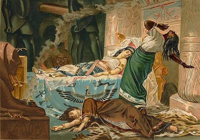 Bagaimana cara Ratu Cleopatra bunuh diri