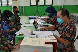 BPJS Kesehatan Tanimbar Layani Program JKN-KIS Anggota TNI