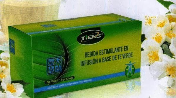 Te Verde Antilipidos Tiens Adelgazar de Forma Natural