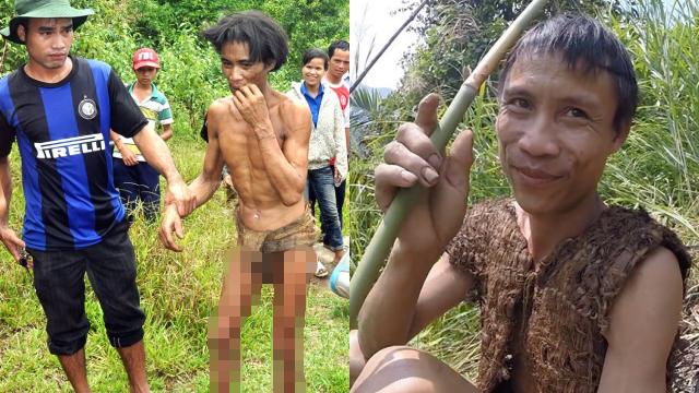 Tarzan di Kehidupan Nyata Hidup Selama 41 Tahun di Hutan dan Tidak Mengenal Wanita