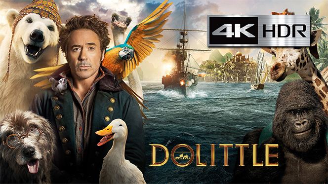 Dolittle (2020) 4K UHD [HDR] Latino-Ingles